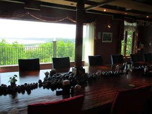 オーベルジュ北の暖暖:レストラン綾からの景色は最高!