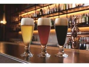 オリジナル地ビール「博多ドラフト」 ホテル地下の醸造所で造りあげたオリジナルの味をお楽しみください!!