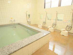 ビジネスホテルおがわ:大浴場(男性用)ご利用時間は17時~23時