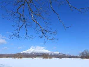 函館大沼プリンスホテル:冬の駒ヶ岳