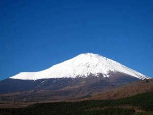 時之栖 須走温泉 天恵:天恵からの富士山