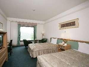 小海リエックスホテル:29㎡の広々としたスタンダードツインルーム