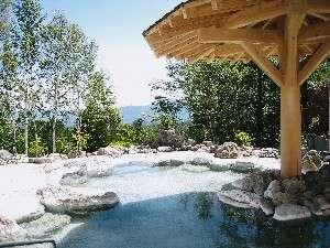 小海リエックスホテル:石つくりの露天風呂も快適ゆったり♪