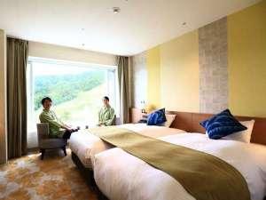 雫石プリンスホテル:スーペリアフロア・ハリウッドツイン(2名・9F)イメージ