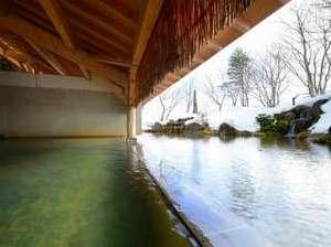 雫石プリンスホテル:【雫石高倉温泉(冬)】冬ならではの雪見露天風呂