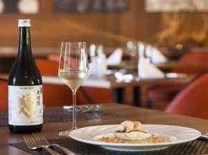 雫石プリンスホテル:【フランス料理こぶし】フレンチと日本酒とのマリアージュ(イメージ)
