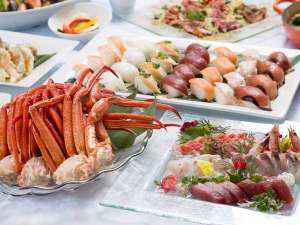 熱海ニューフジヤホテル:365日海の幸が食べ放題!80種類以上のメニューが食べ放題のグレードアップバイキング!