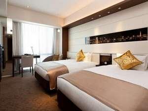 ソラリア西鉄ホテル銀座:ツインルーム 24㎡(ベッド幅115cm×2台)