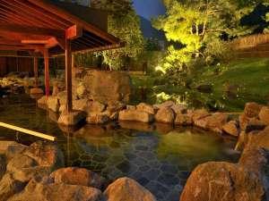 水上温泉 源泉湯の宿 松乃井:■蛍あかりの湯■幻想的な光に包まれる・・・