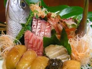 ペンション ブルーマーリン:旬の魚料理がメインとなります。