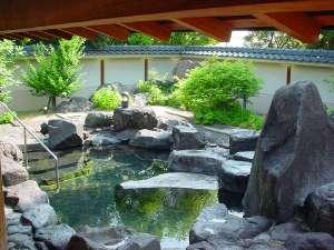 美人の湯と高台からの眺めでおもてなし ホテル別府パストラル:露天風呂でゆったり♪