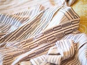 ★お部屋着には、浴衣をご用意。(パジャマ、バスローブのご用意はございません)
