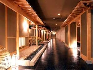 ホテル湯元:館内廊下