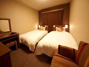 安芸の湯 ドーミーイン広島:◆ツインルーム(125cm幅ベッド×2台、18㎡)