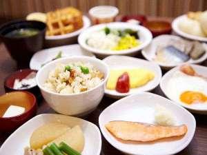 安芸の湯 ドーミーイン広島:◆朝食和洋バイキング一例