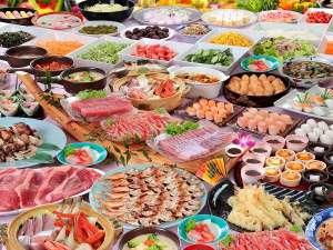 ロイヤルホテル 能登(旧:能登ロイヤルホテル):【季節の彩りバイキング】大漁鍋やお寿司、お刺身などお楽しみください※写真はイメージです