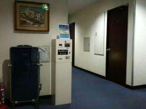 寿々屋ホテルの廊下です。