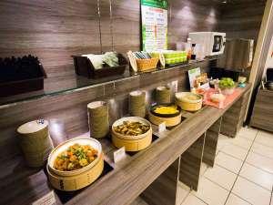 スーパーホテルJR新大阪東口:健康朝食バイキング