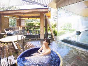 休暇村 南伊豆:潮騒が心地よい庭園露天風呂