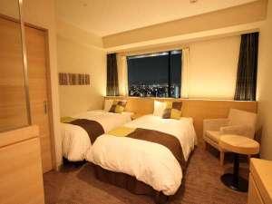 ホテル京阪 京橋 グランデ:ツイン26平米/トイレ・バスセパレート