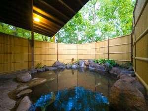 和の宿 狭霧亭(さぎりてい):男女別の露天風呂はご滞在中いつでも入れます