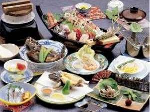 磯料理の宿 松屋:平日釜飯プラン