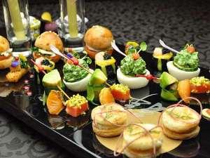 ホテルマイユクール祥月:ピンチョスや八寸など季節の前菜