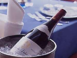 京成ホテル ミラマーレ:レストラン『ディスカーロ』ワイン(イメージ)