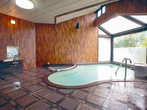 八幡平市自然休養村 なかやま荘:*大浴場/日本で初めての、地熱利用の天然温泉。