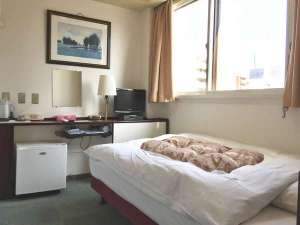 グリンヒルホテル:シングルベットルーム