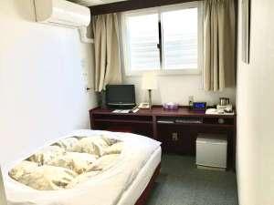 グリンヒルホテル:【シングルルーム】期間限定♪売り切れ御免のお得な現金特化プランもご用意しております