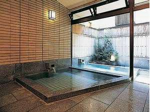 露天付き浴場