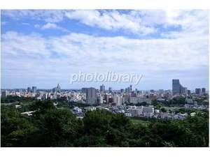 青葉城からの景色