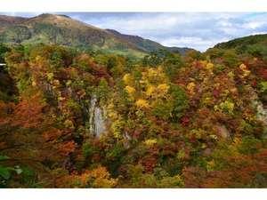 鳴子峡の景色(絶景です)