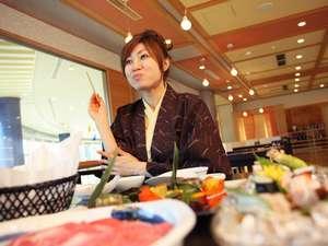 レストラン風の音で近江牛の付いたお食事が楽しめます。