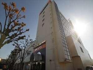 アパホテル<山形鶴岡駅前>:JR「鶴岡駅」正面徒歩1分