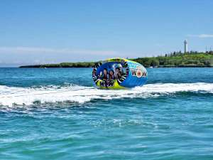 沖縄残波岬ロイヤルホテル:ざんぱビーチでマリンアクティビティを満喫しよう♪