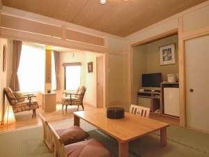 オテル・ド・マロニエ下呂温泉:【お部屋】露天風呂付客室♪特別な日やファミリー・カップルでどうぞ。