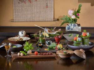 旅館 山河:料理一例