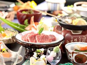 【彩の料理】肉汁ジュワ~メインは黒毛和牛の鉄板焼