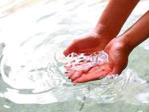 化粧水いらず、お肌スベスベの湯が自慢です