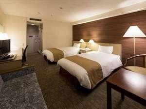 南千里クリスタルホテル:ゆったり広々と、スタンダードツイン