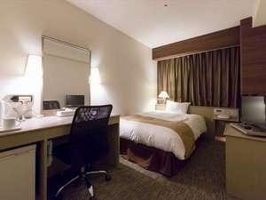 南千里クリスタルホテル:落ち着くシングルルーム