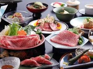 飛騨古川スペランツァホテル:【飛騨牛づくし満足プラン】大満足の飛騨牛料理をどうぞ(一例)