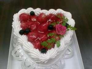 ケーキのご用意いたします。お誕生日などの記念日に♪