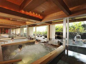 きぬ川ホテル三日月:渓谷の湯