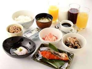 第一インパーク:和定食 毎朝6:30~ご用意しております。定食スタイルにこだわり定食スタイルNO.1になりたい