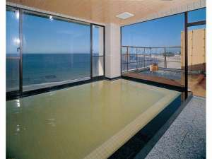 浜辺のホテル 松濤(しょうとう):平成30年5月伊勢湾一望7階温泉展望大浴場リニューアルオ-プン 千鳥の湯 1