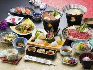 ホテル秋田屋:天の川秋田屋自慢のお料理をご堪能ください