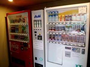ホテル鶴:自販機コーナー